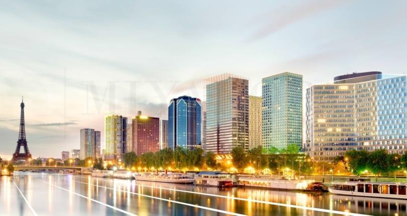 Le Front de Seine vu par MiyakoParis